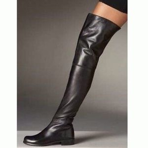 Stuart Weitzman Tall Boots Leather Over the Knee